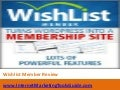 Wishlist Member Review