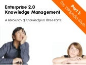 The Wikipedia Myth - Enterprise 2.0...