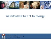 Wateford Institute of Technology 2012