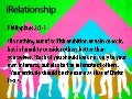 iRelationship - Week 03 Verses