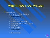Wireless LAN Technoloy