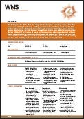 WNS Corporate Factsheet