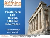 Learning Transformation & Governance