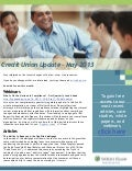 Wolters Kluwer Credit Union May 2013 Newsletter