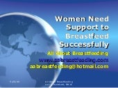 Women Need Support