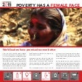 Poverty has a female face