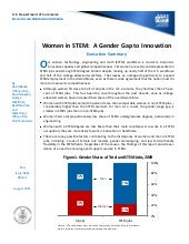 Women in Stem a Gender Gap to Innov...