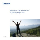Women In The Boardroom Deloitte 012011