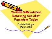 Women & Revolution Socialist Di...