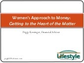 Women'S Approach To Money