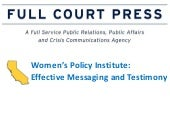Women's policy institute