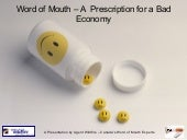 Word of Mouth - A Prescription for ...