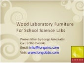 Wood Laboratory Furniture for Science Labs