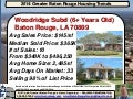 Woodridge Subdivision Baton Rouge Home Sales Report 2014