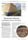 Worcester library Post Tensioned Concrete Case Study