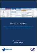 Word Of Health   China (Oncology) (English)