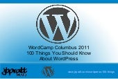 Wordcamp columbus-100-things