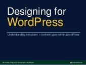 Designing for WordPress