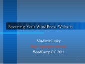 Securing Your WordPress Website - W...