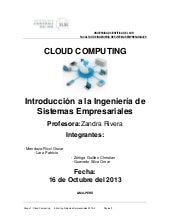 CLOUD COMPUTING INVESTIGACIÒN