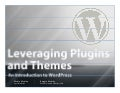 NARdiGras WordPress Camp - Themes & Plug-Ins