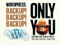 WordPress: Backup! Backup! Backup!