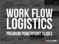 PowerPoint Work Flow Logistics Set