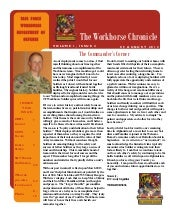 "The 603rd ASB ""Workhorse Chronicle""..."