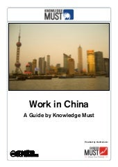 Work in China - A Guide by Knowledg...