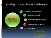 Working In The Biotech Universe Win...