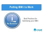 Work Management: Best Practices for Optimizing Your IBM i
