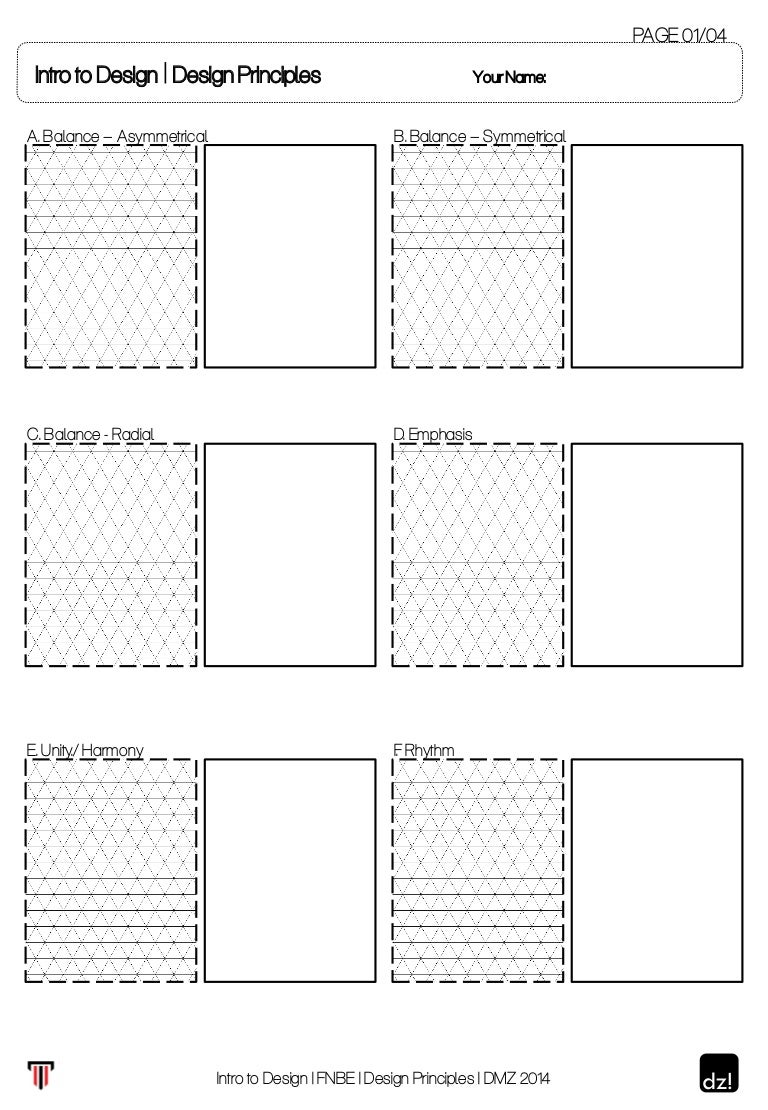 Worksheet Principles Of Design Worksheet worksheet for design principles