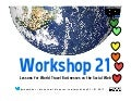 Workshop 21: Lessons for World Travel Companies on the Social Web