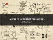 Workshop 3   the value proposition