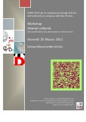 Workshop ITERR-COST - Calci 25 Marz...