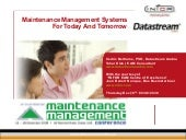 Workshop INFOR EAM 14th Maintenance...