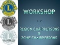 Lions Workshop for RCs and ZCs