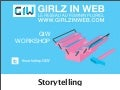Workshop giw storytelling par célina barahona