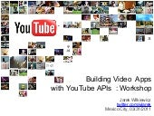 YouTube APIs Workshop