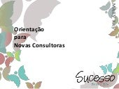 Workshop Novas Consultoras