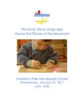Workshop Booklet: Practical Life an...