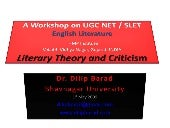 Workshop UGC NET SLET