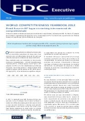 World Competitiveness Yearbook 2012