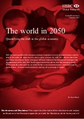 World 2050 hsbc
