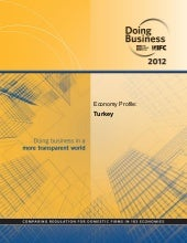 World bank  - Doing business turkey...