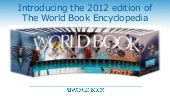 World Book Encyclopedia Books 2012