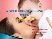 World breastfeeding week 2013( 1 - ...