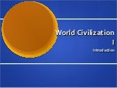 World Civilization