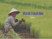 World food day presentation