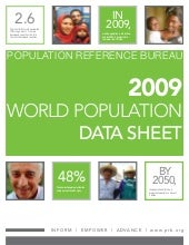 World Population Data Sheet 2009